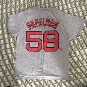 Tops - Red Sox women's large T-shirt. Not fitted